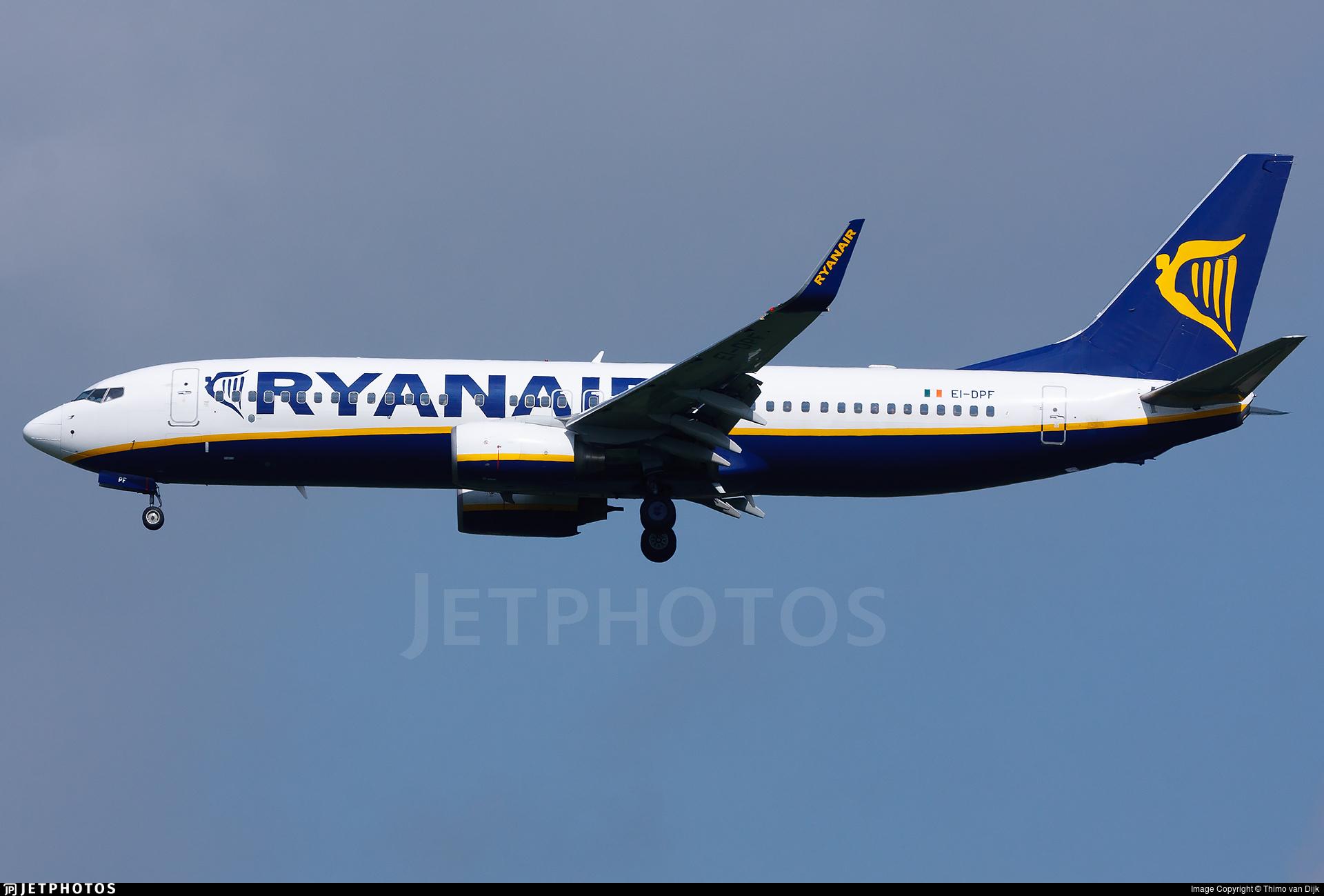 EI-DPF - Boeing 737-8AS - Ryanair