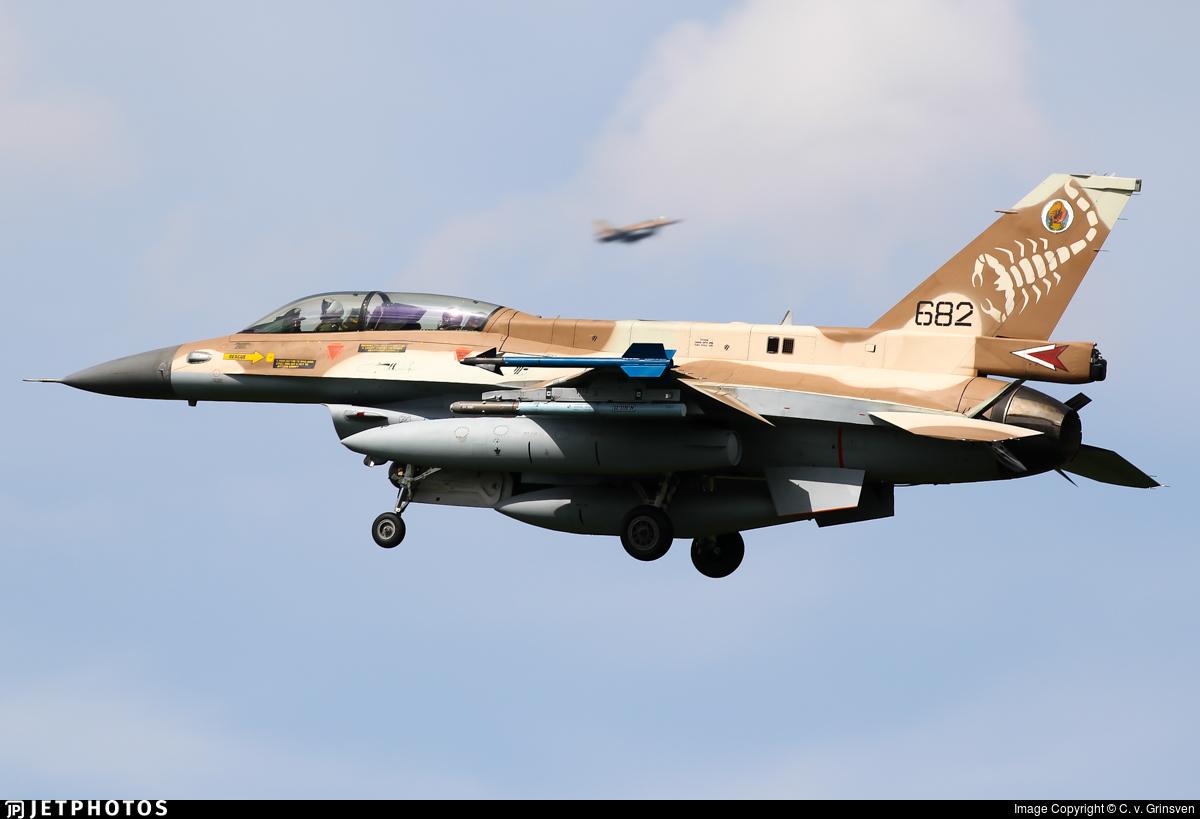 682 - General Dynamics F-16D Barak - Israel - Air Force