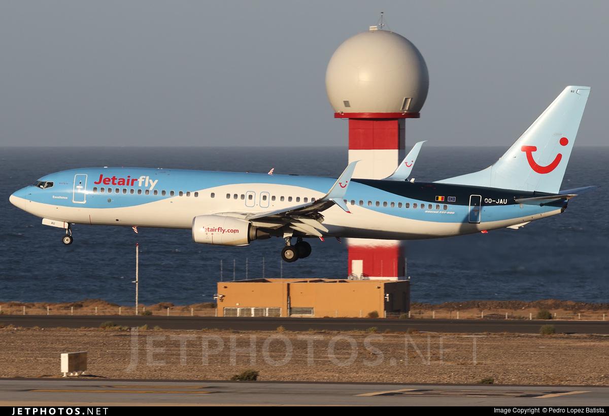 OO-JAU - Boeing 737-8K5 - Jetairfly