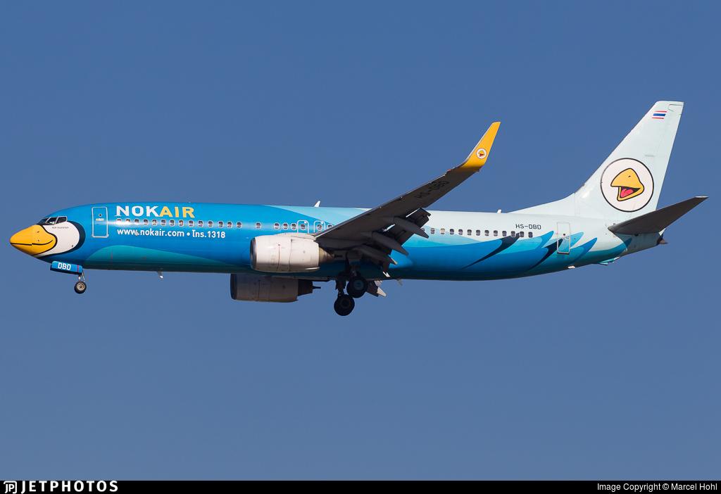 HS-DBD - Boeing 737-8AS - Nok Air