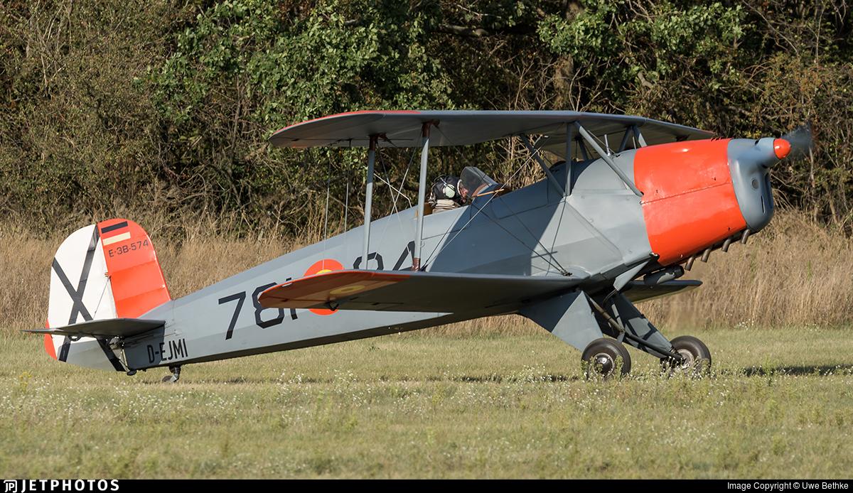 D-EJMI - CASA 1.131E Jungmann - Private