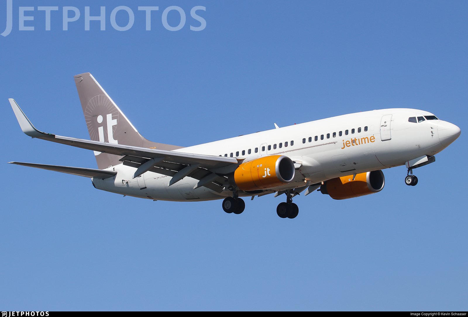 OH-JTZ - Boeing 737-73S - Jettime Finland