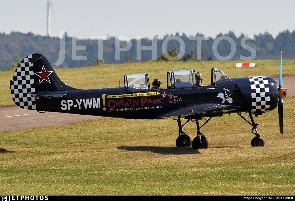 SP-YWM - Yakovlev Yak-52 - Private