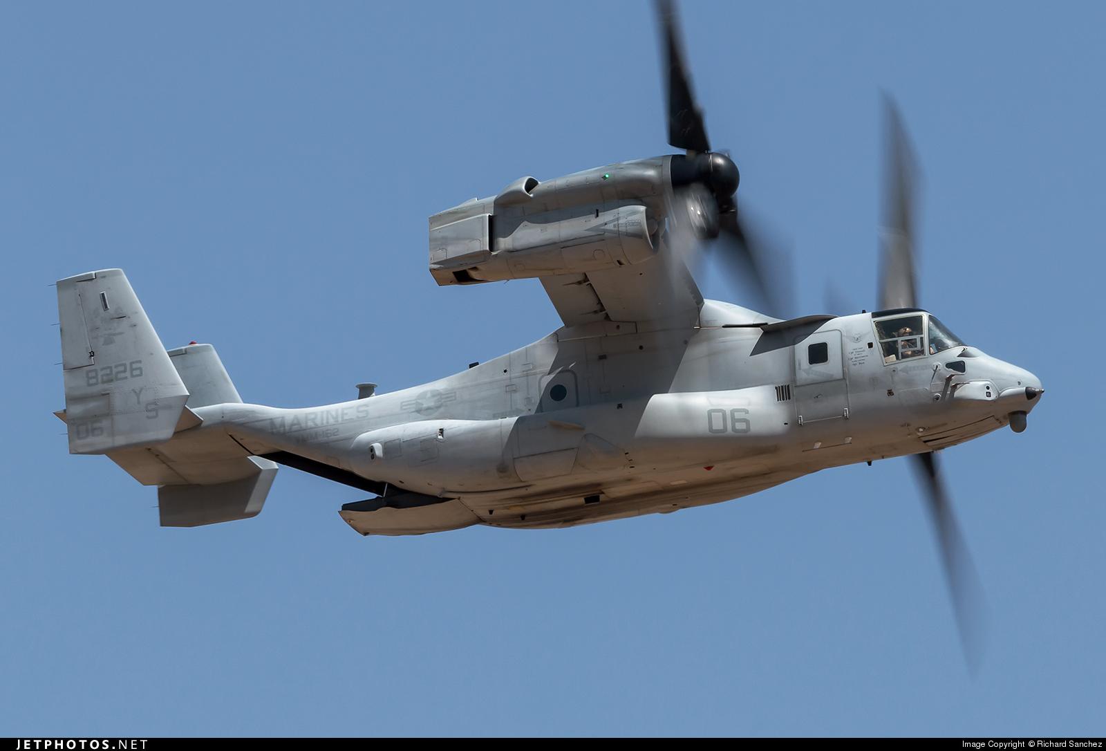 168226 - Boeing MV-22B Osprey - United States - US Marine Corps (USMC)