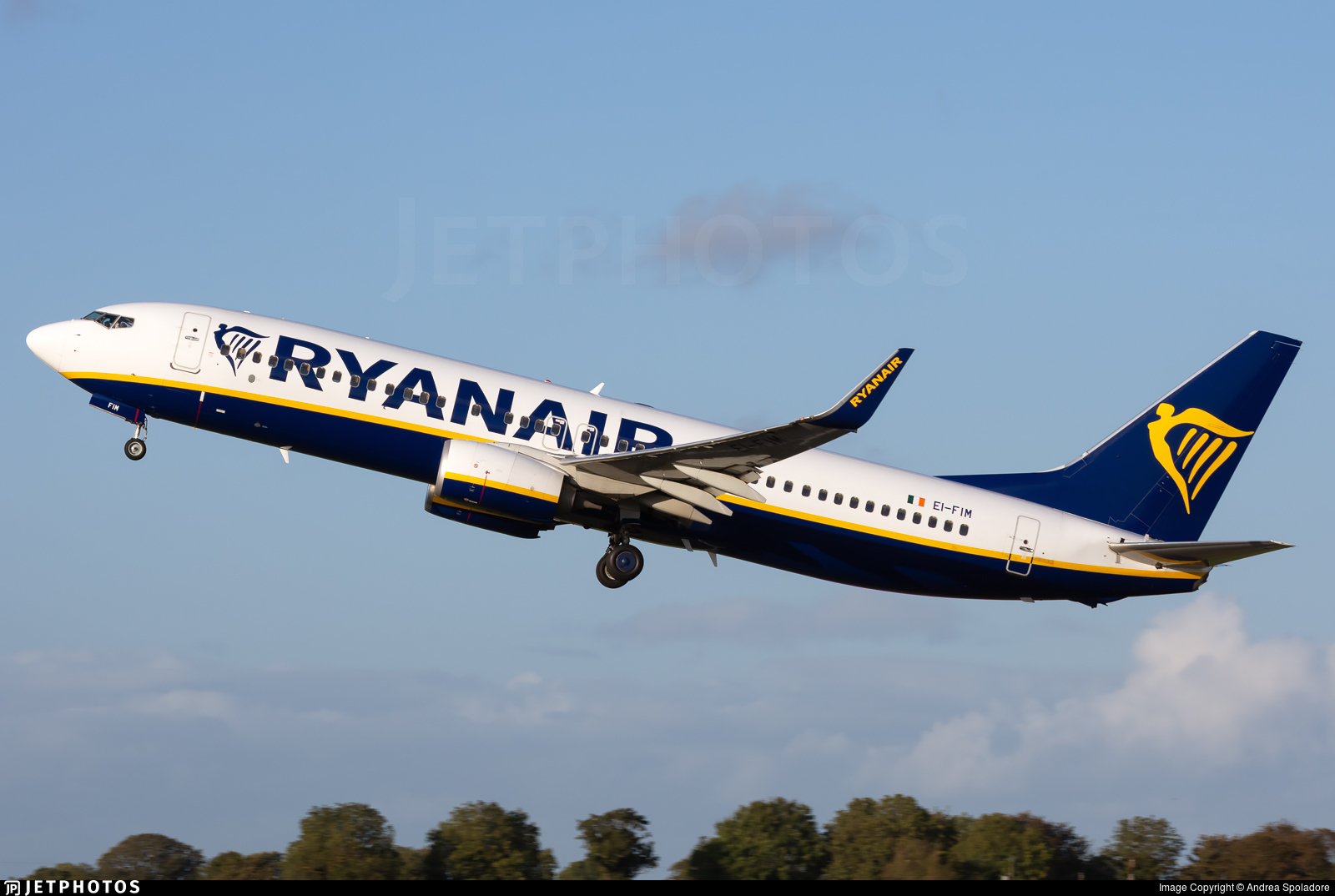 EI-FIM - Boeing 737-8AS - Ryanair