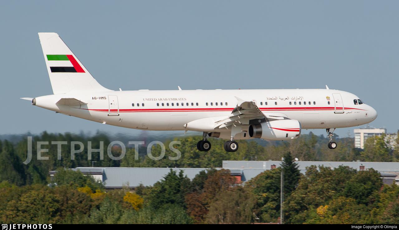 A6-HMS - Airbus A320-232 - United Arab Emirates - Dubai Air Wing