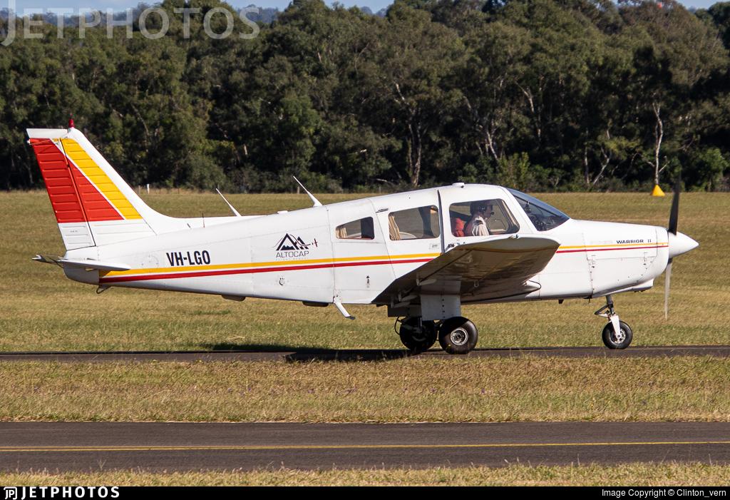 VH-LGO - Piper PA-28-161 Warrior II - AltoCap Flight School