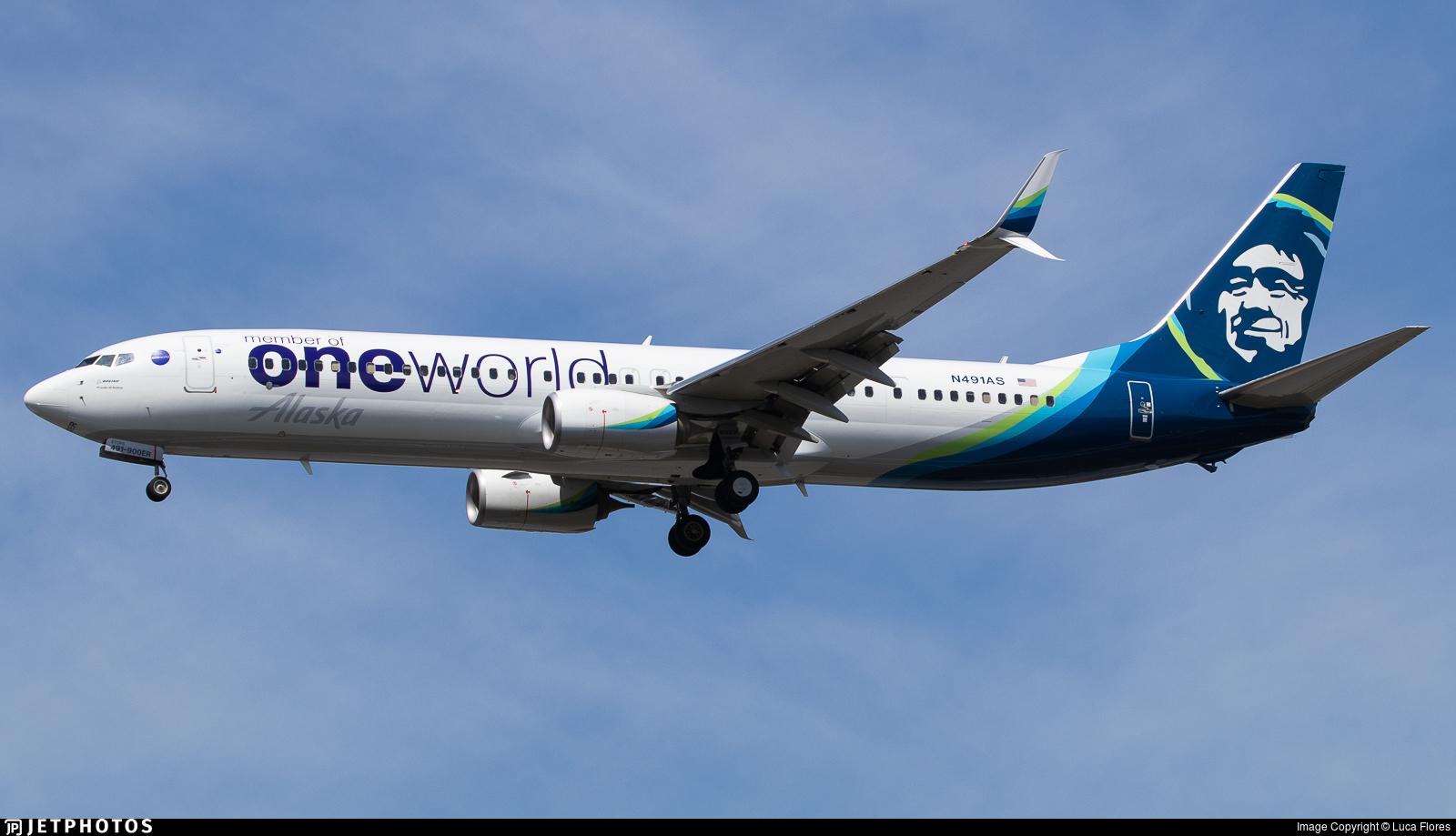 N491AS - Boeing 737-990ER - Alaska Airlines