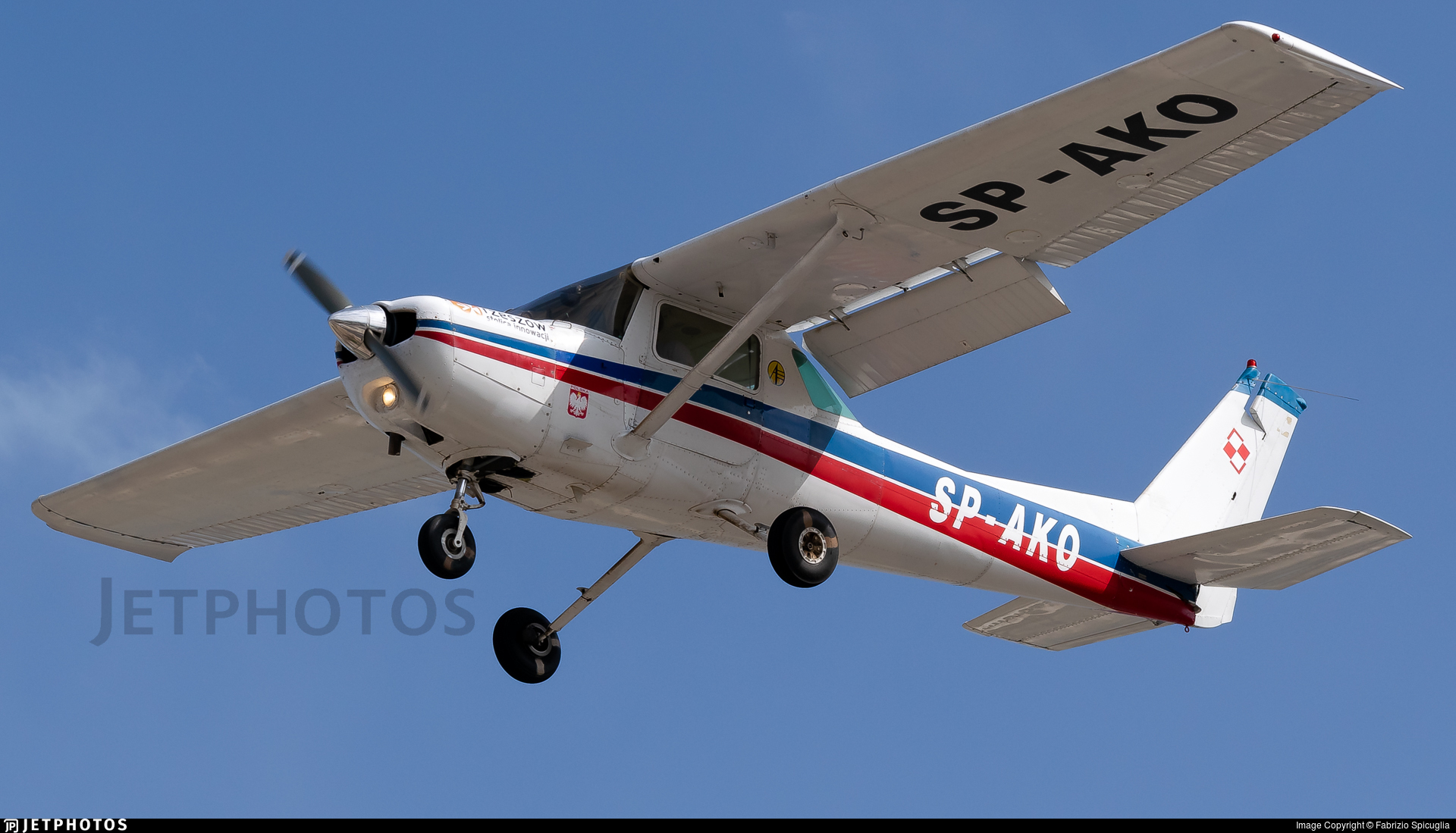 SP-AKO - Cessna 152 - Private
