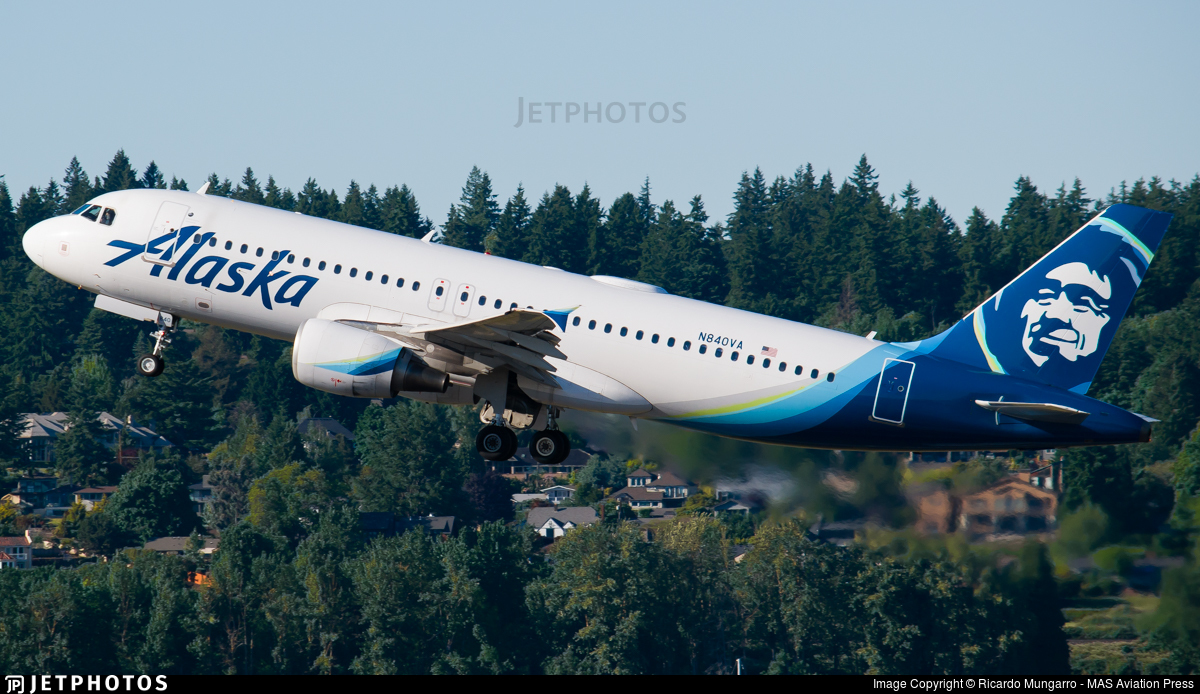 N840VA - Airbus A320-214 - Alaska Airlines