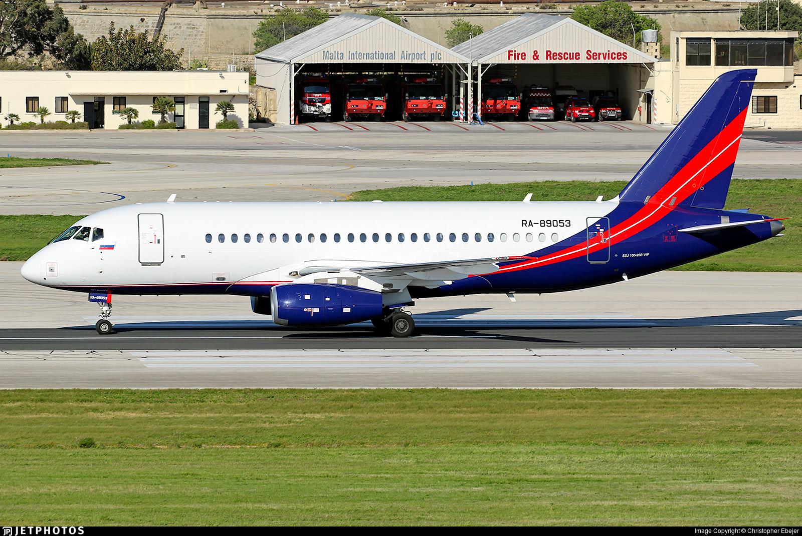 RA-89053 - Sukhoi Superjet 100-95LR - RusJet
