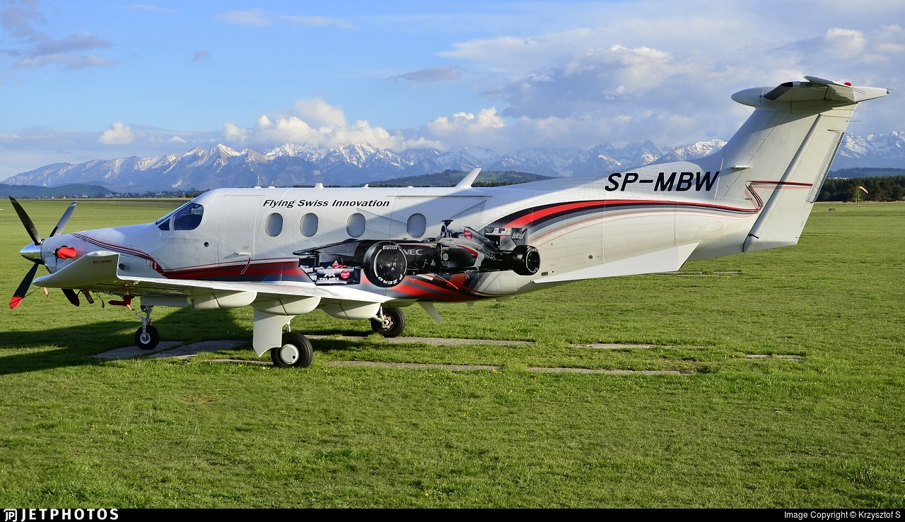 SP-MBW - Pilatus PC-12/47E - Private