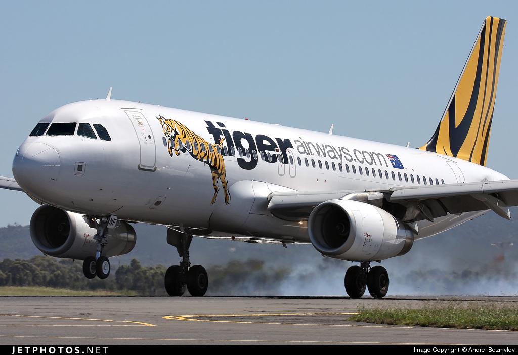 VH-VNF - Airbus A320-232 - Tigerair