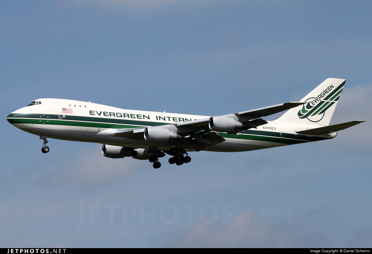 N490EV - Boeing 747-230F(SCD) - Evergreen International Airlines