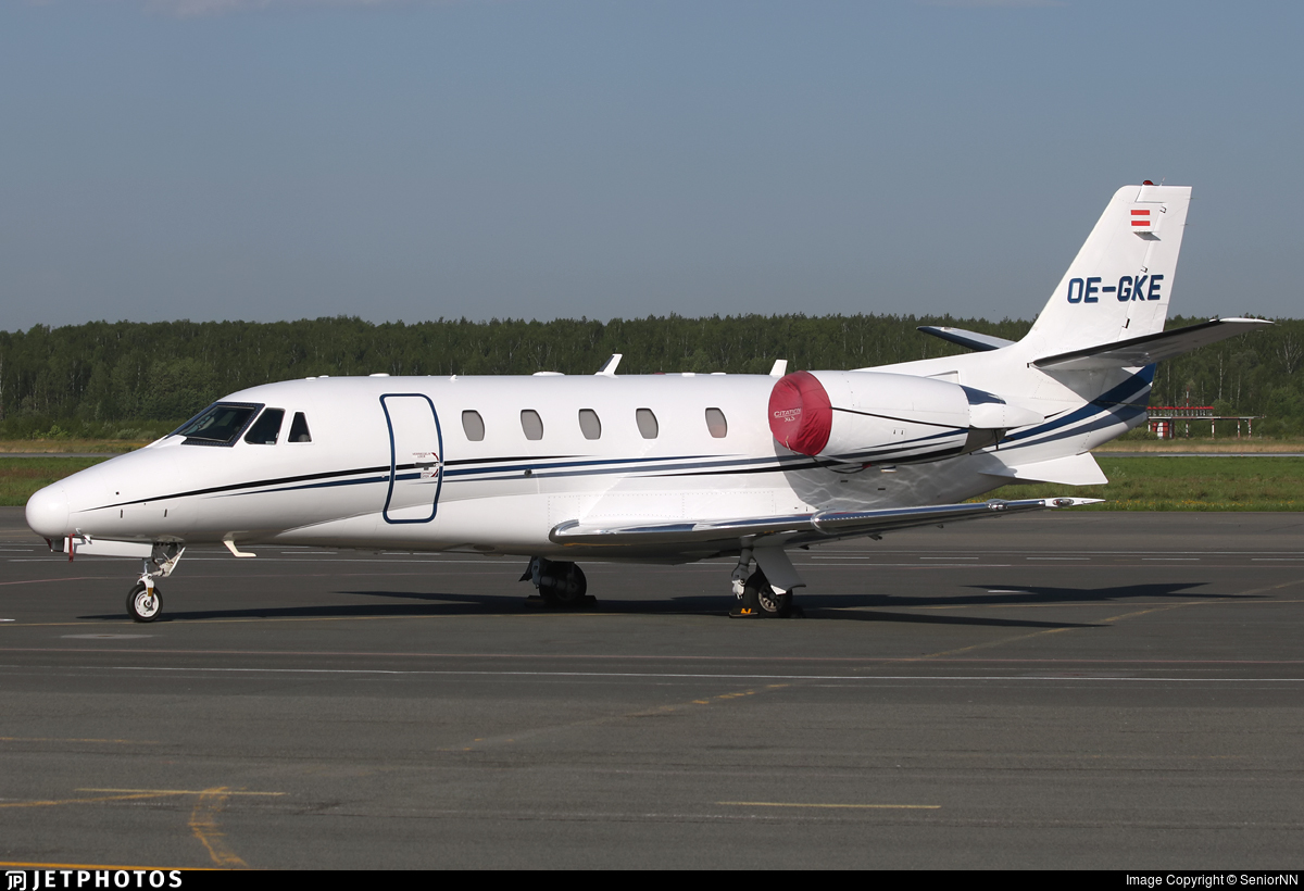OE-GKE - Cessna 560XL Citation XLS - Fly Tyrol