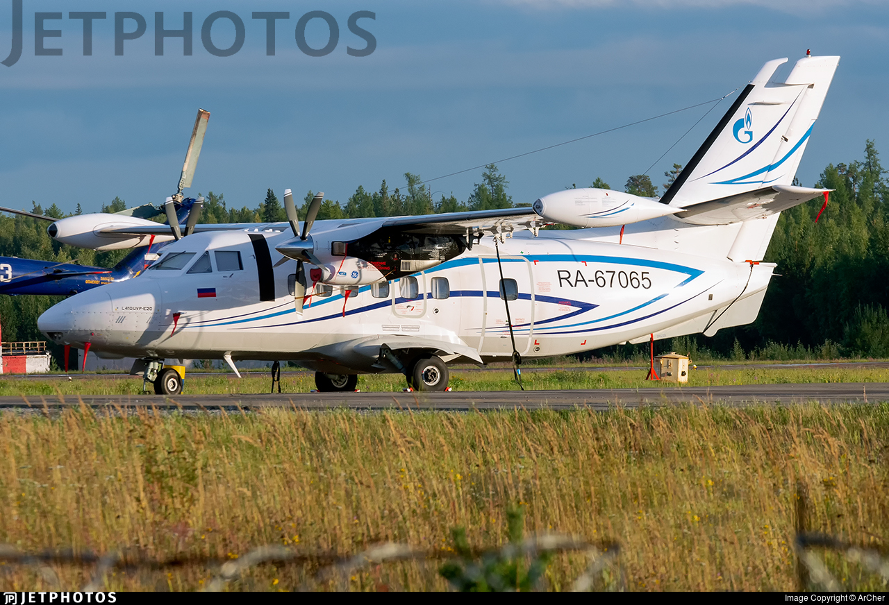 RA-67065 - Let L-410UVP-E20 Turbolet - Gazpromavia