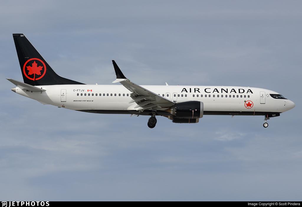 C-FTJV - Boeing 737-8 MAX - Air Canada