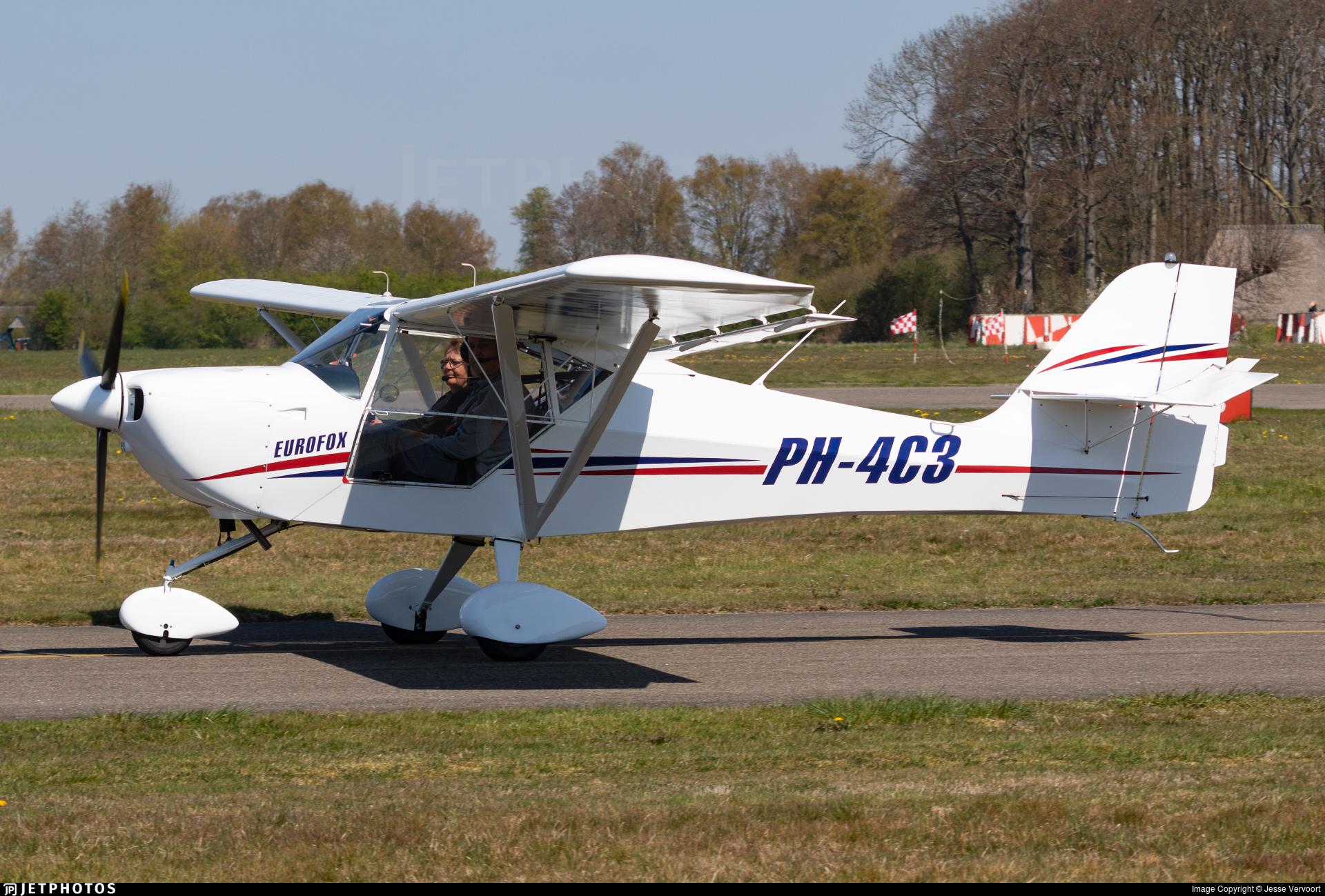 PH-4C3 - Aeropro Eurofox - Private