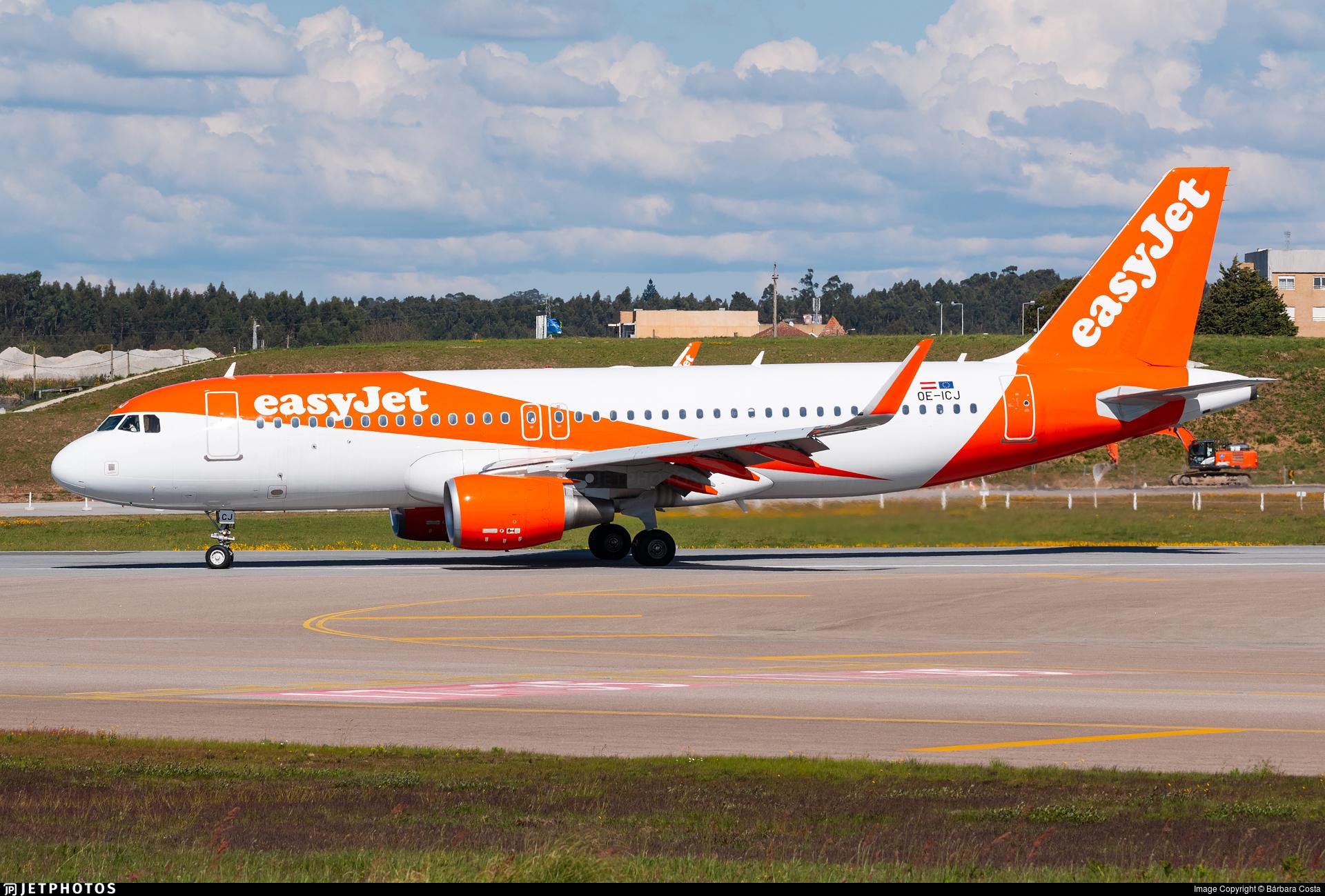 OE-ICJ - Airbus A320-214 - easyJet Europe