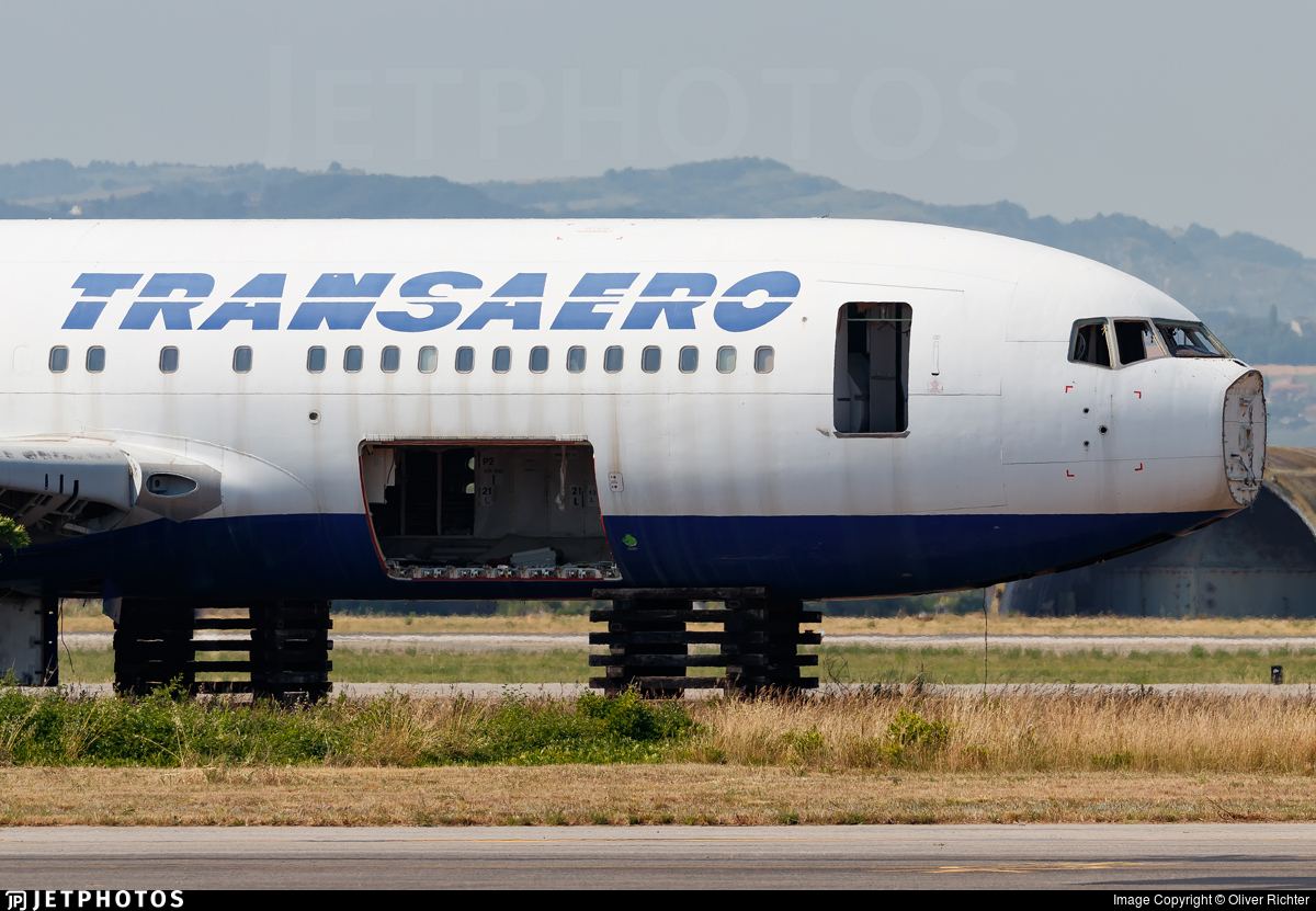 EI-DBW - Boeing 767-201(ER) - Transaero Airlines