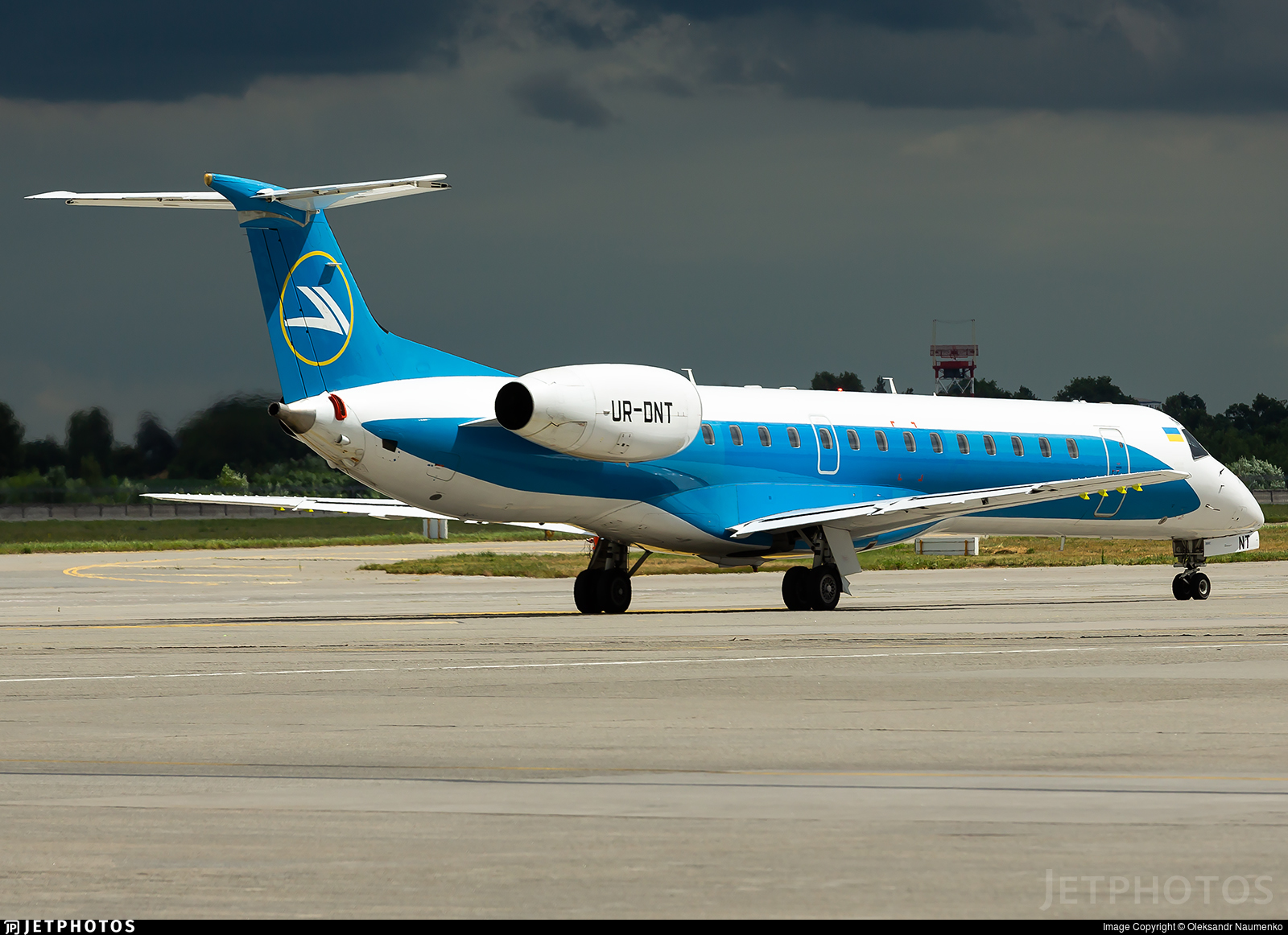 UR-DNT - Embraer ERJ-145LR - Windrose Airlines