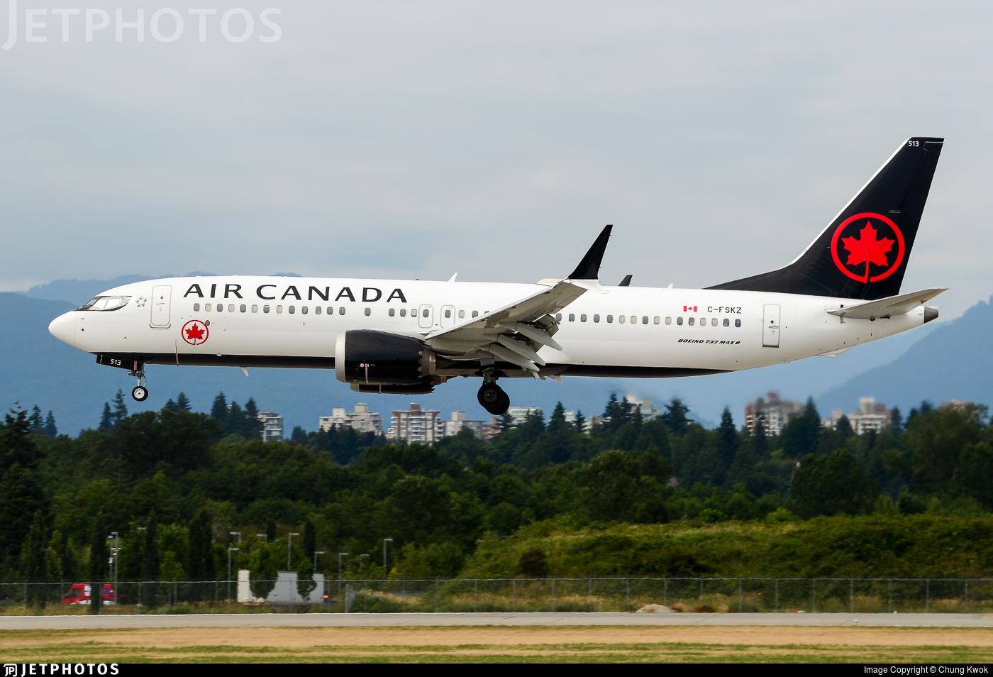 C-FSKZ - Boeing 737-8 MAX - Air Canada