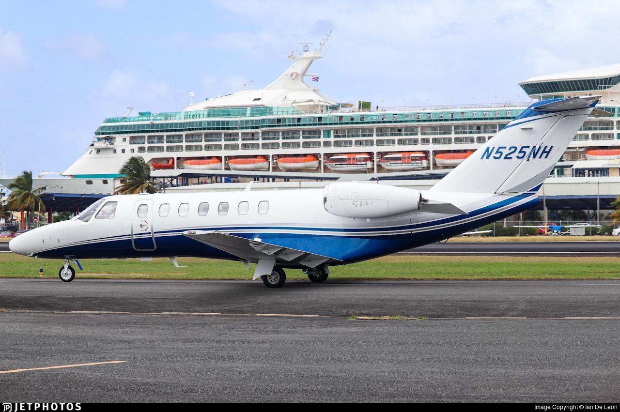 N525NH  - Cessna 525 Citation CJ2 - Private