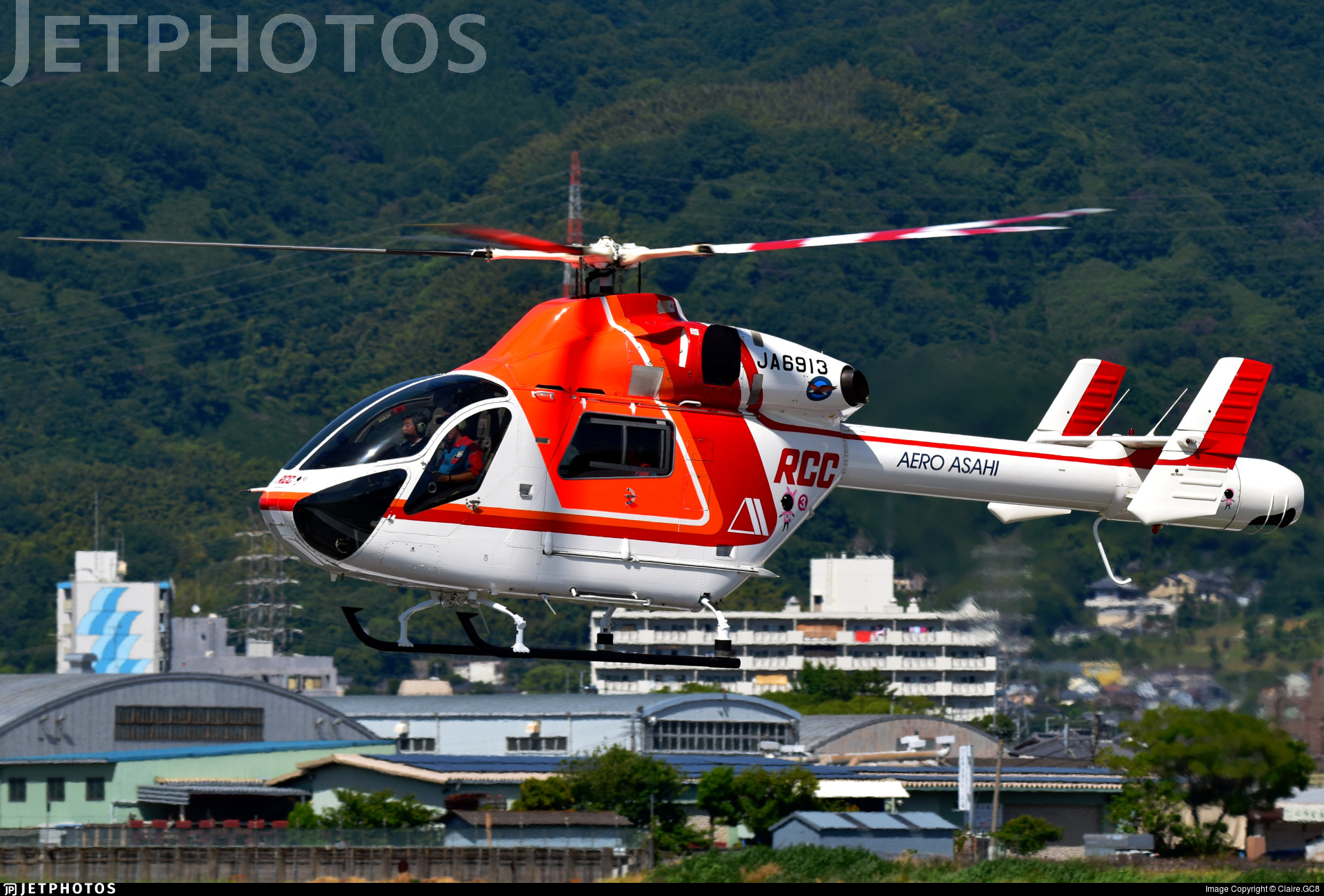 JA6913 - McDonnell Douglas MD-900 Explorer - Aero Asahi