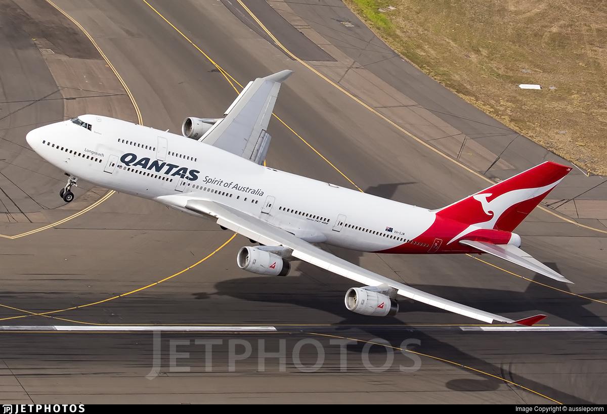 VH-OJM | Boeing 747-438 | Qantas | JetPhotos