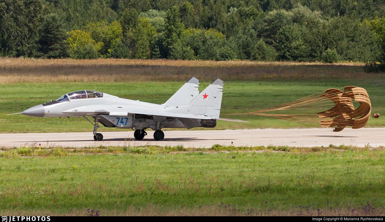 747 - Mikoyan-Gurevich MiG-29M2 Fulcrum E - Russia - Air Force