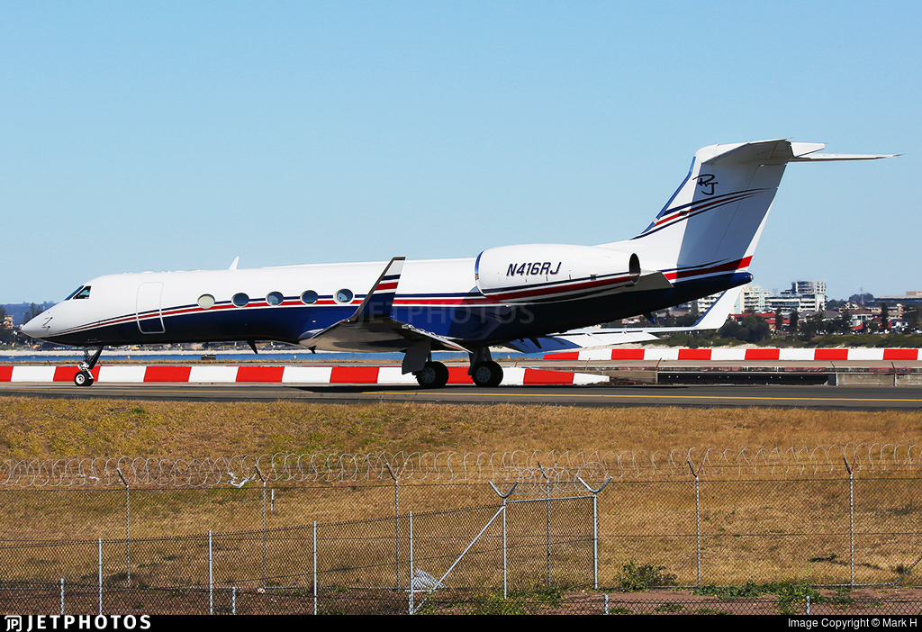 N416RJ - Gulfstream G-V - Private