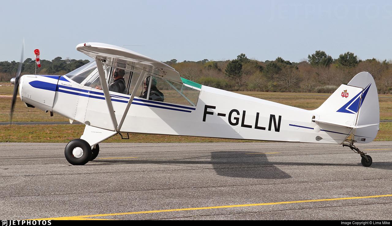 F-GLLN - Piper PA-18 Super Cub - Private