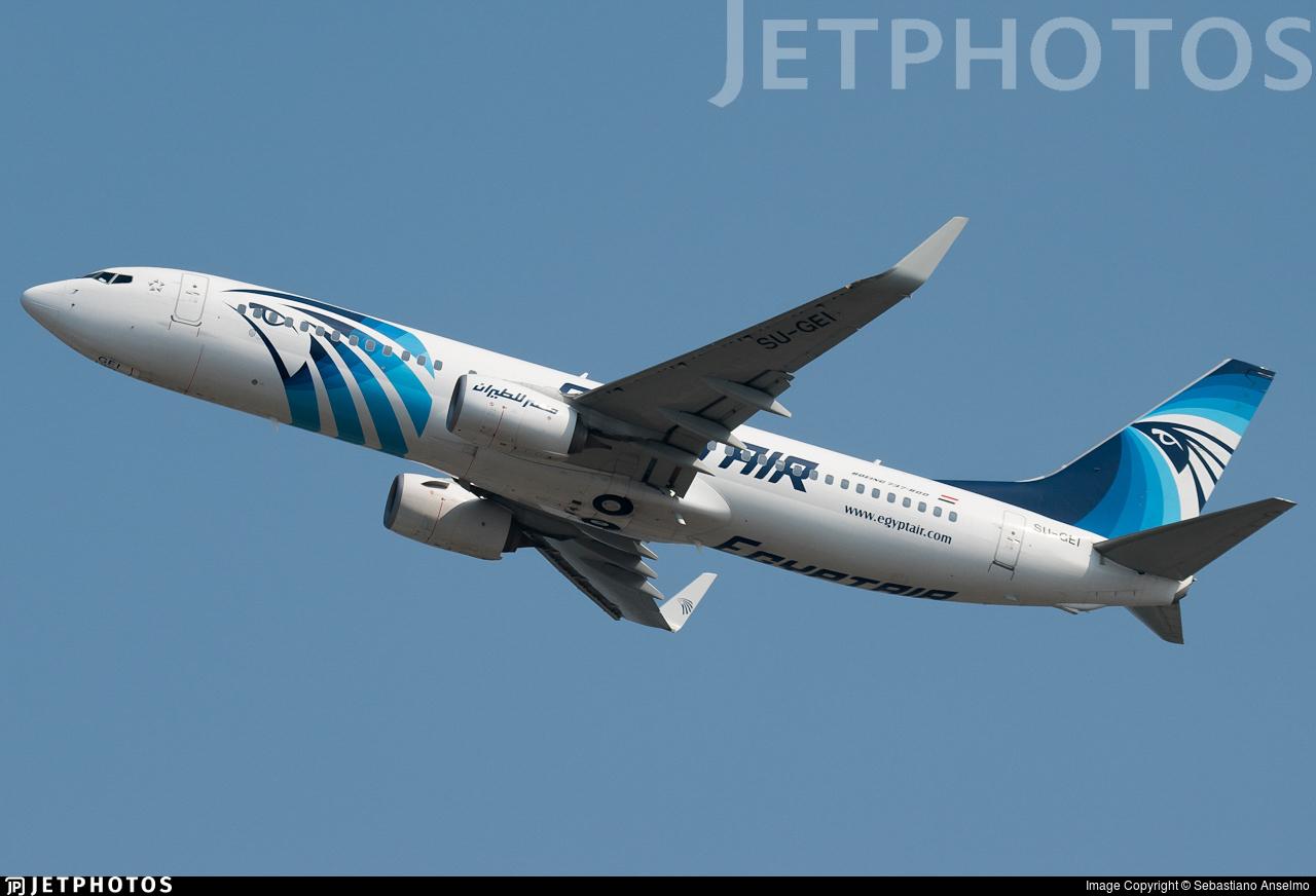 SU-GEI - Boeing 737-866 - EgyptAir