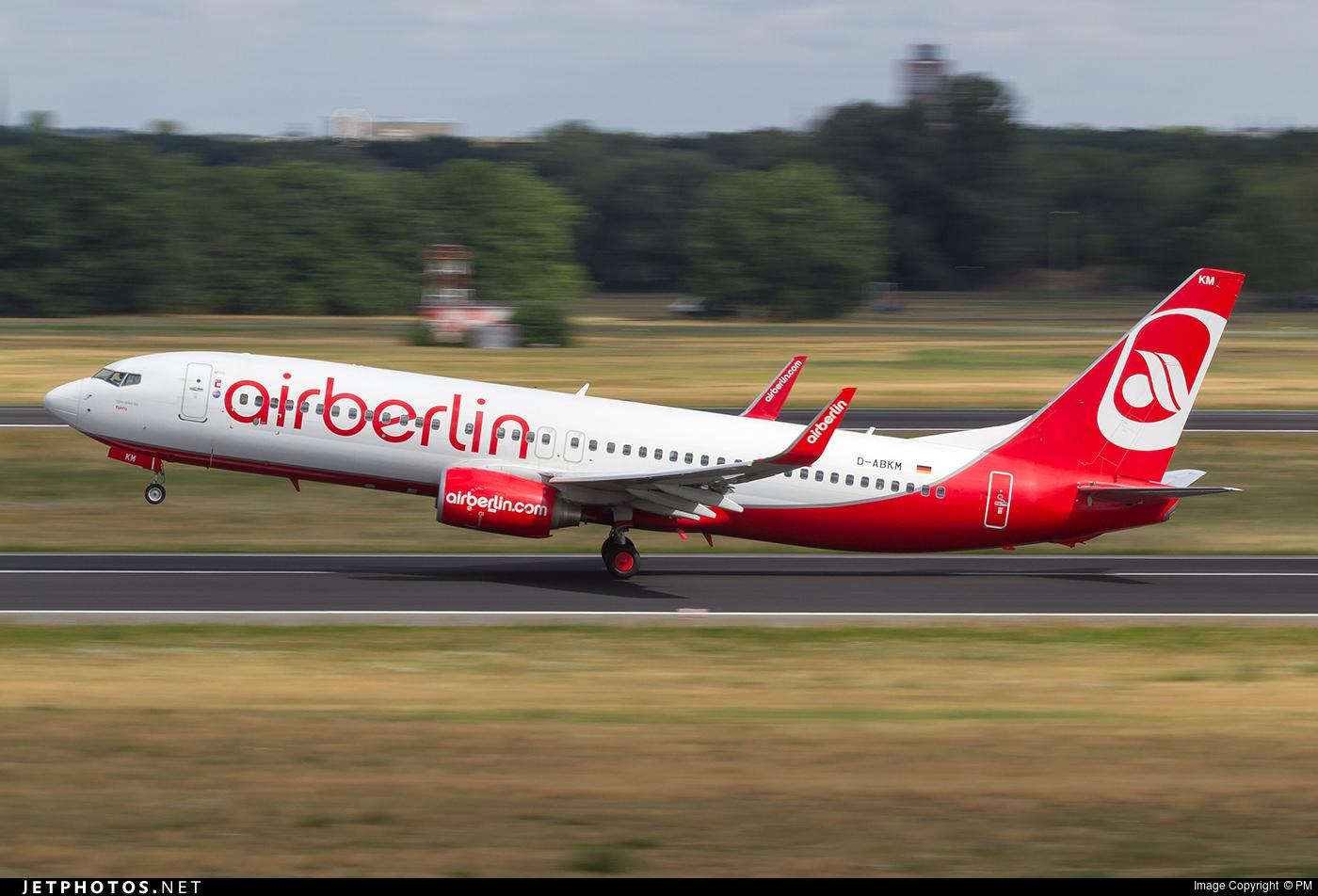 D-ABKM - Boeing 737-86J - Air Berlin