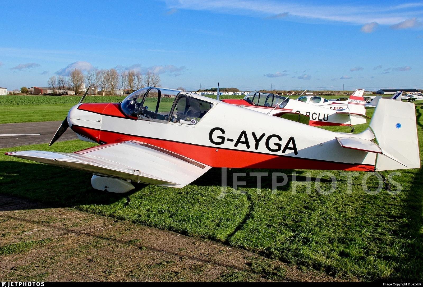 G-AYGA - Jodel D117 Grand Tourisme - Private