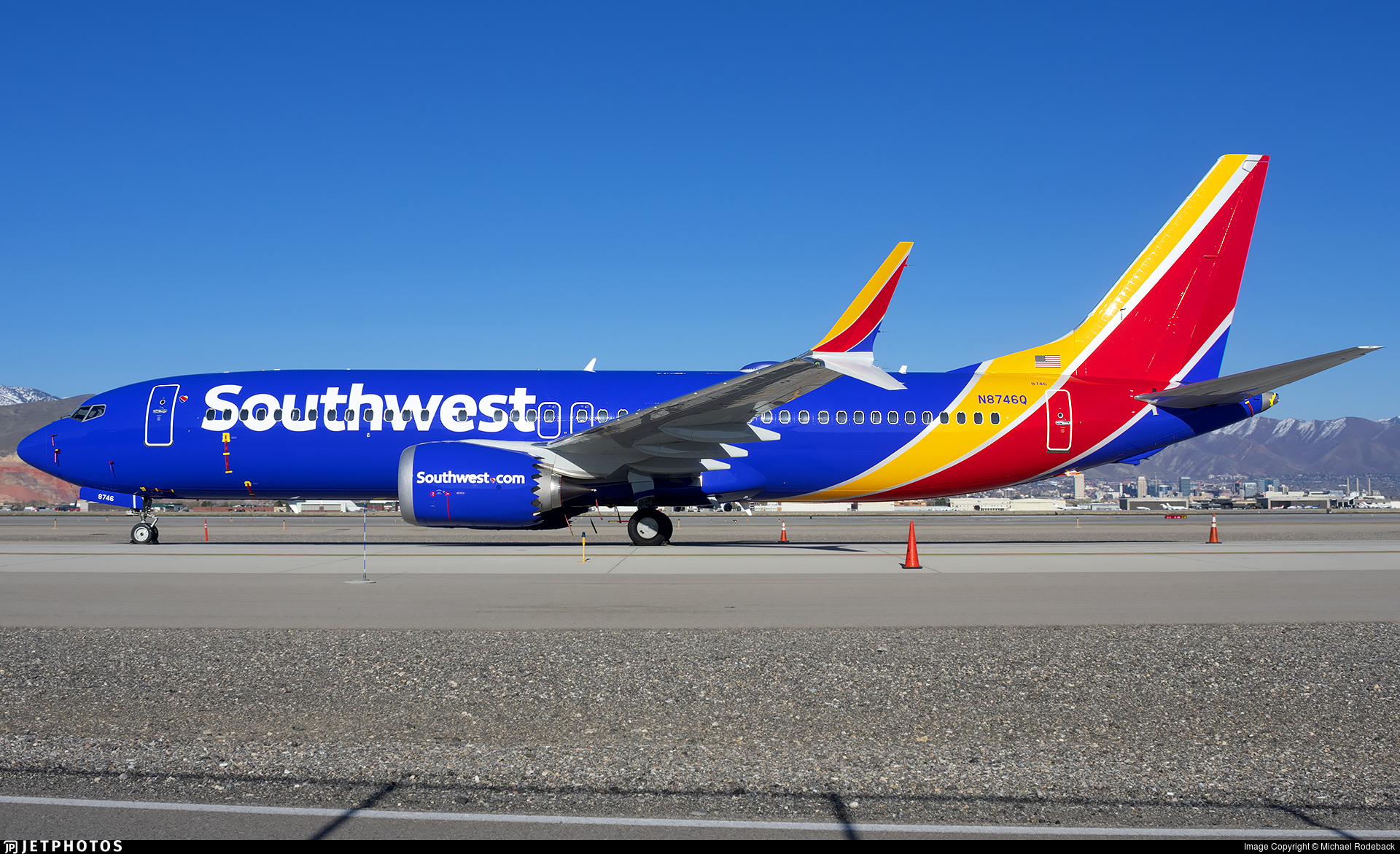 N8746Q - Boeing 737-8 MAX - Southwest Airlines
