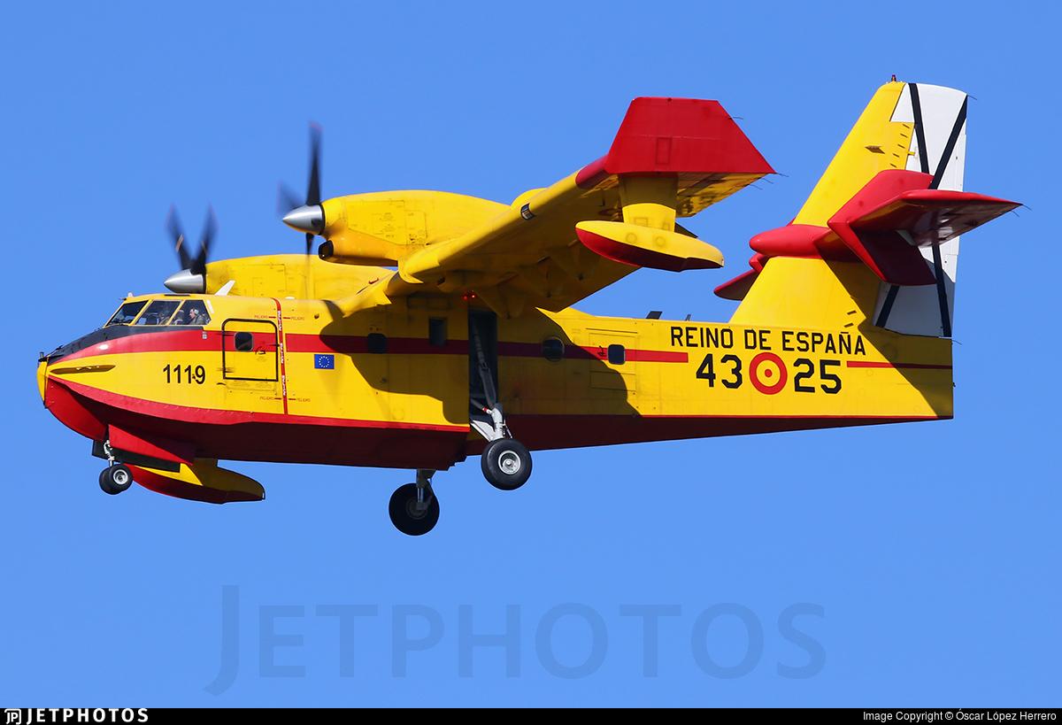 UD.13-25 - Canadair CL-215T - Spain - Air Force