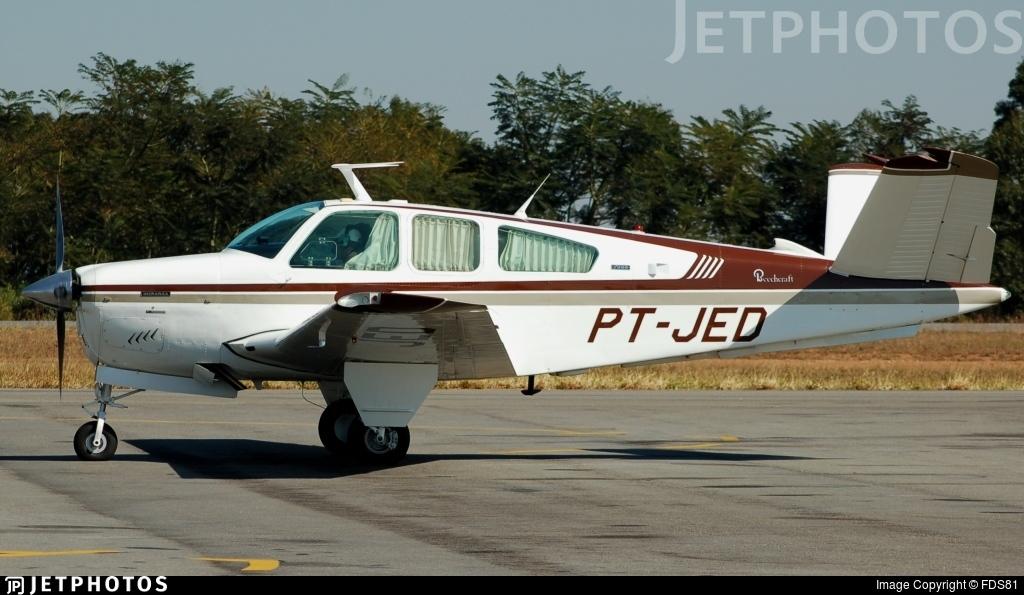 PT-JED - Beechcraft V35B Bonanza - Private