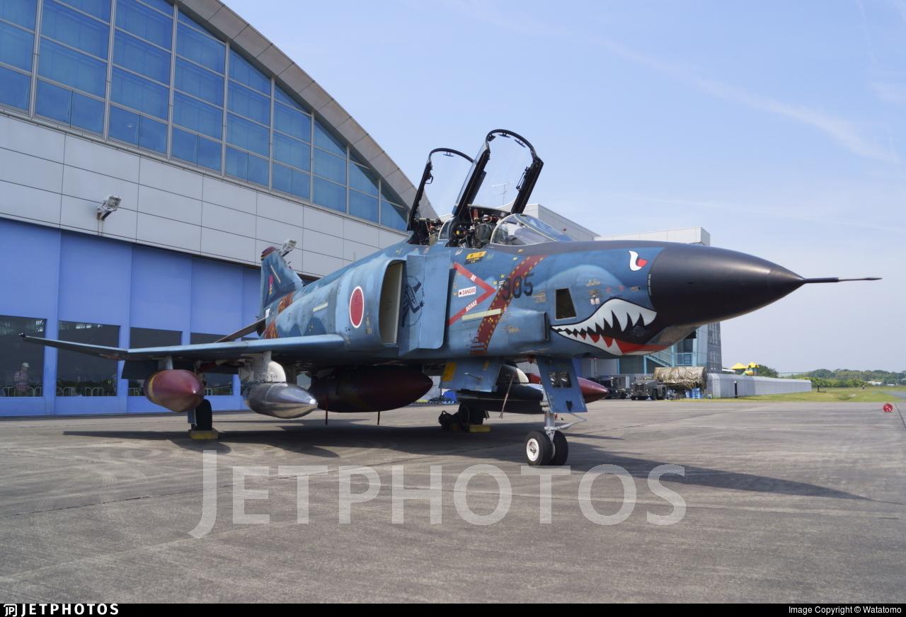 47-6905 - McDonnell Douglas RF-4E Kai Phantom II - Japan - Air Self Defence Force (JASDF)