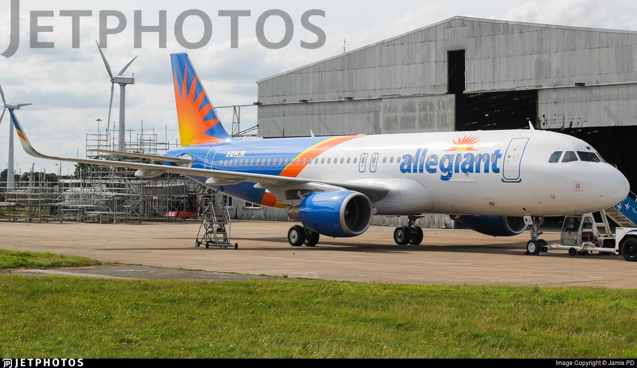 G-EZWJ - Airbus A320-214 - Allegiant Air