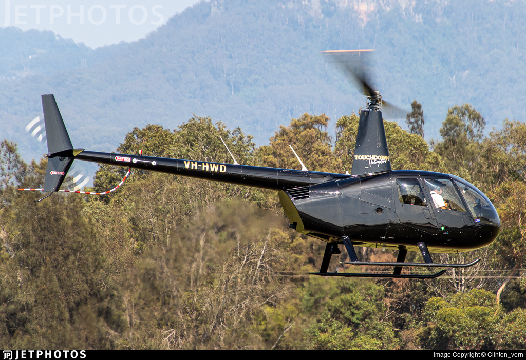 VH-HWD - Robinson R44 Raven II - Touchdown Helicopters