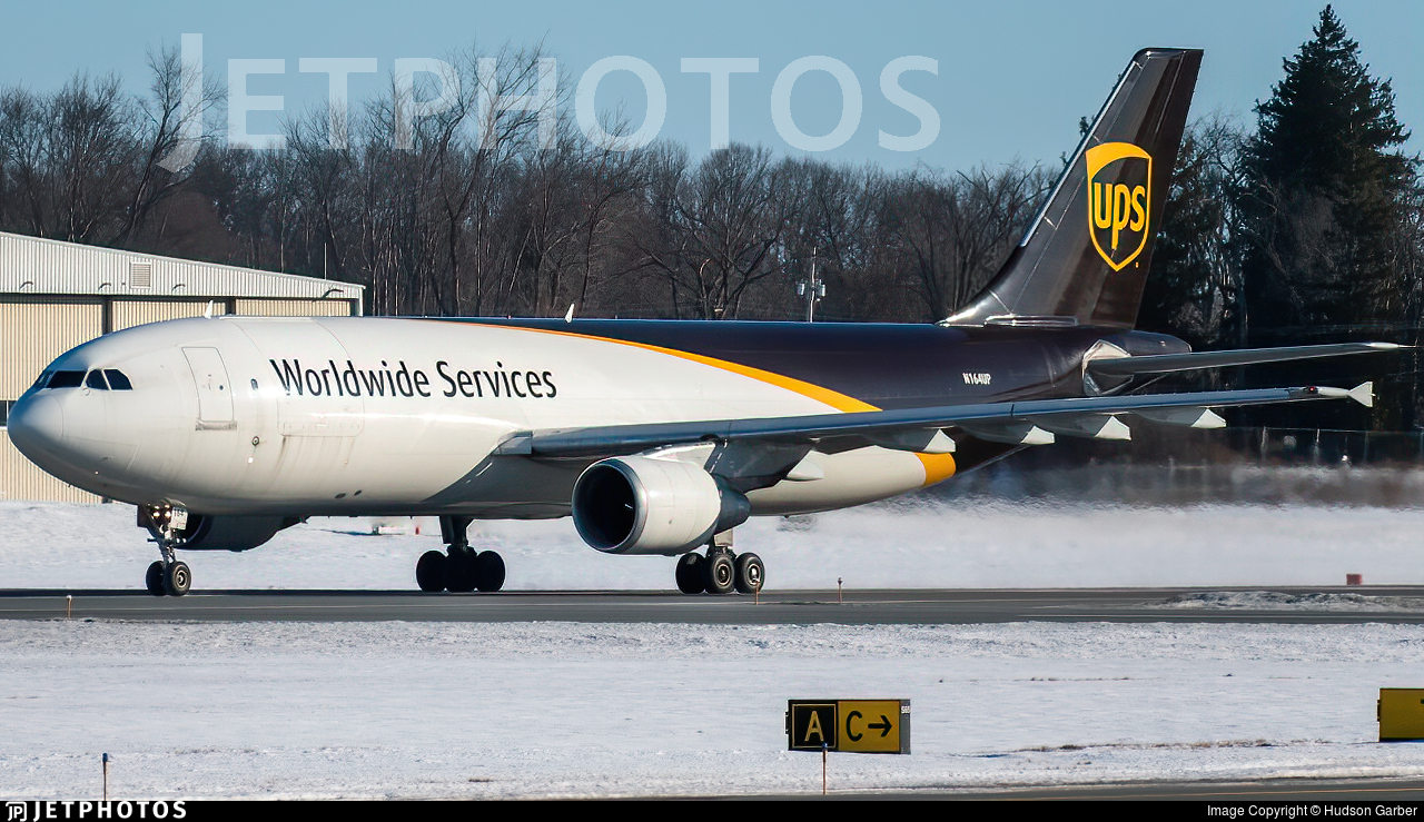 N164UP - Airbus A300F4-622R - United Parcel Service (UPS)