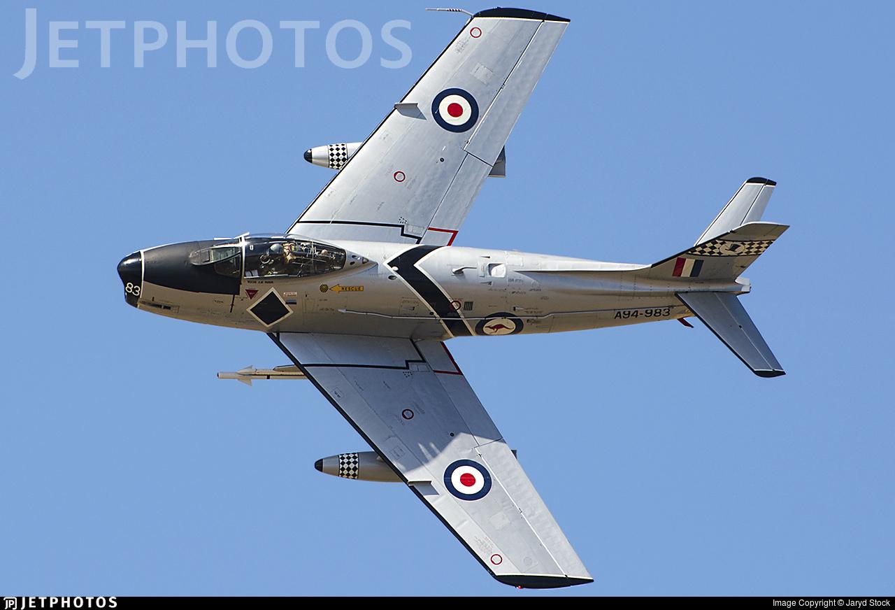 VH-IPN - CAC CA-27 Sabre Mk.32 - Private
