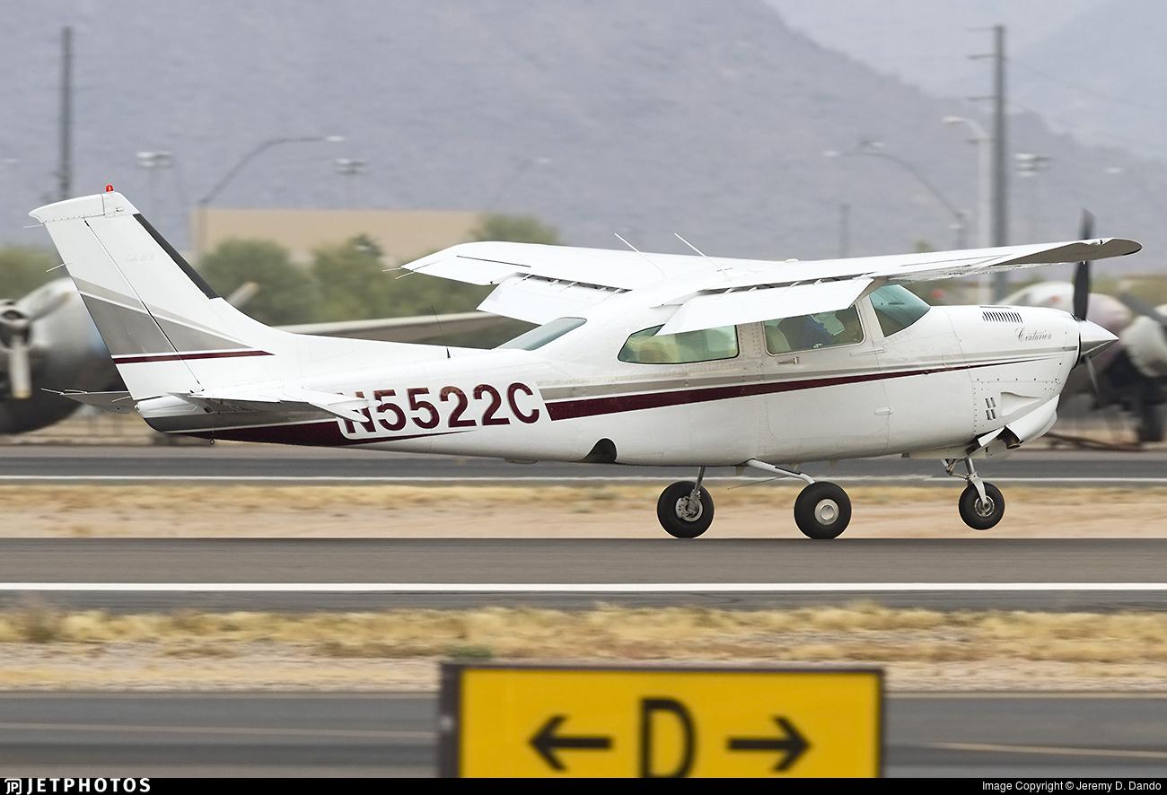 N5522C - Cessna T210R Turbo Centurion II - Private