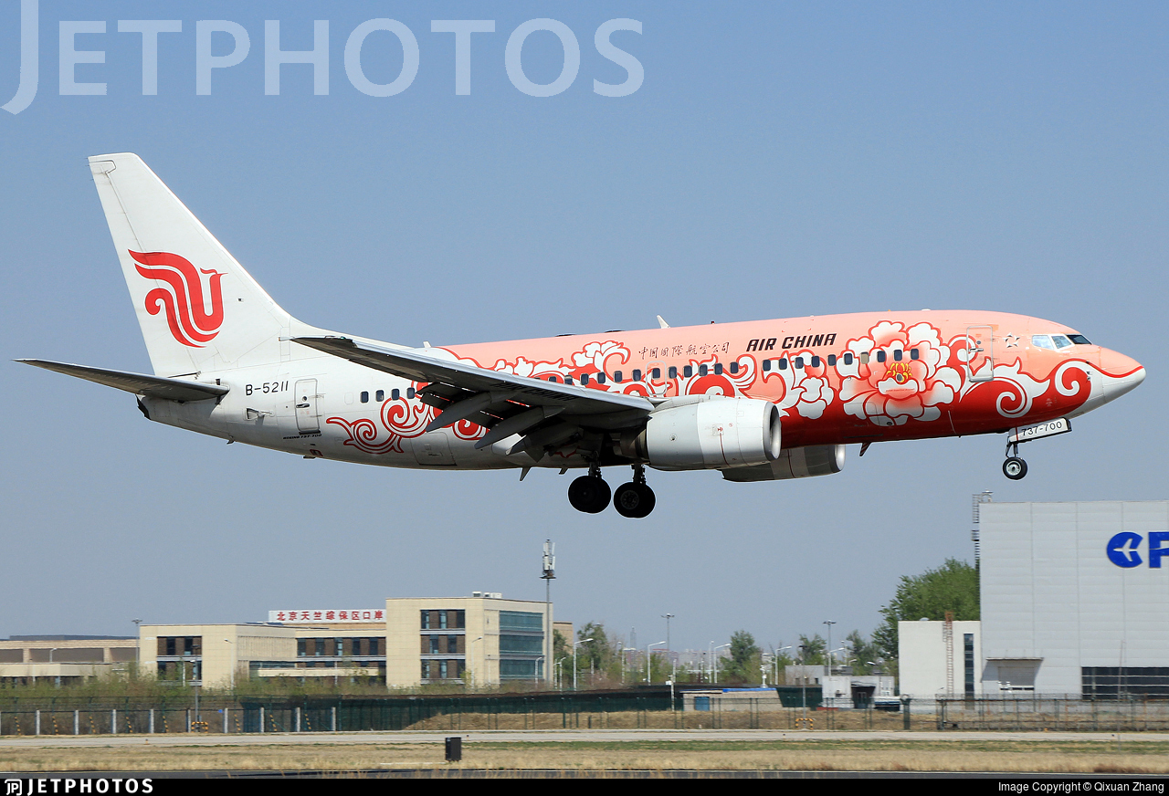 B-5211 - Boeing 737-79L - Air China