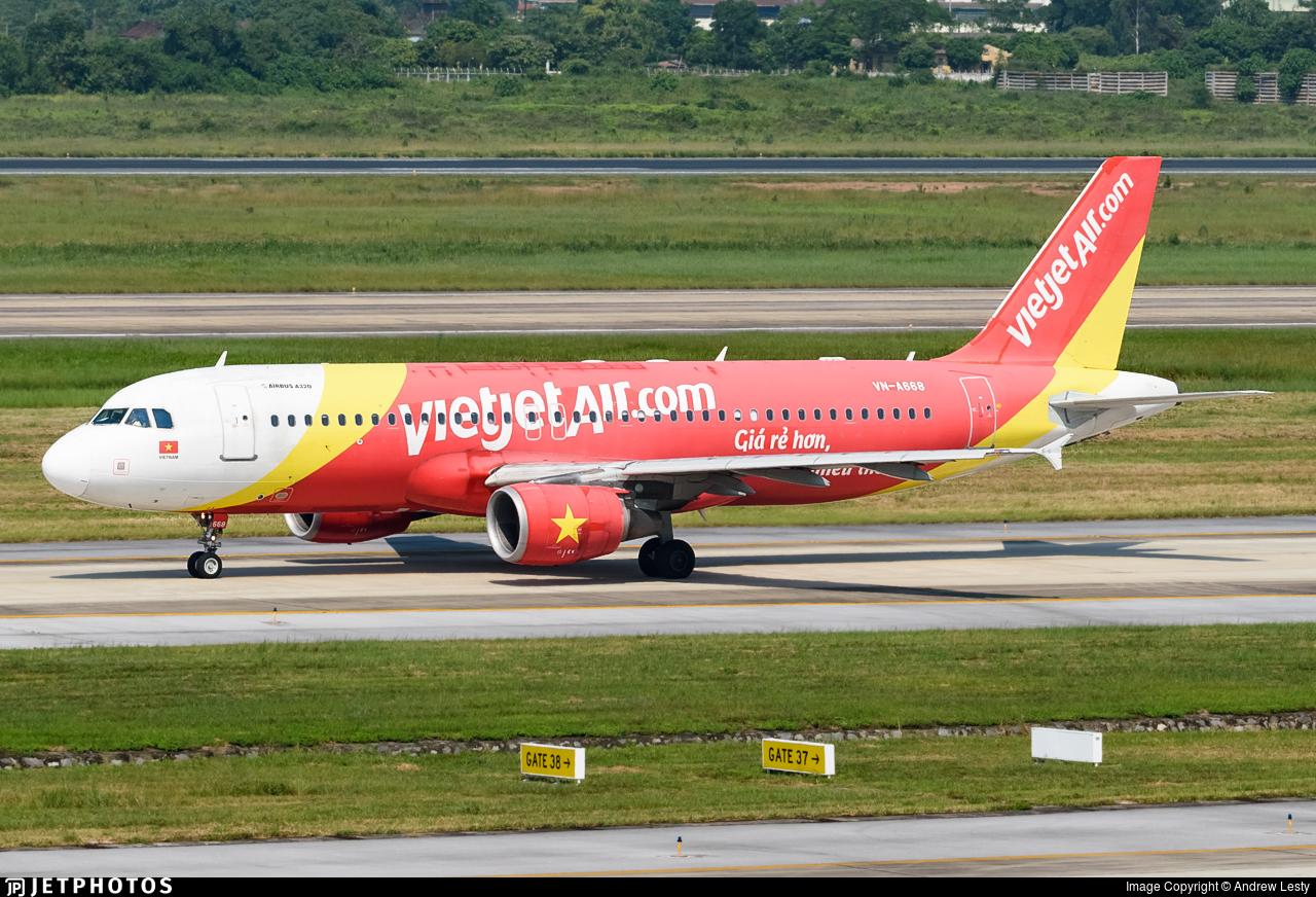 VN-A668 - Airbus A320-214 - VietJet Air