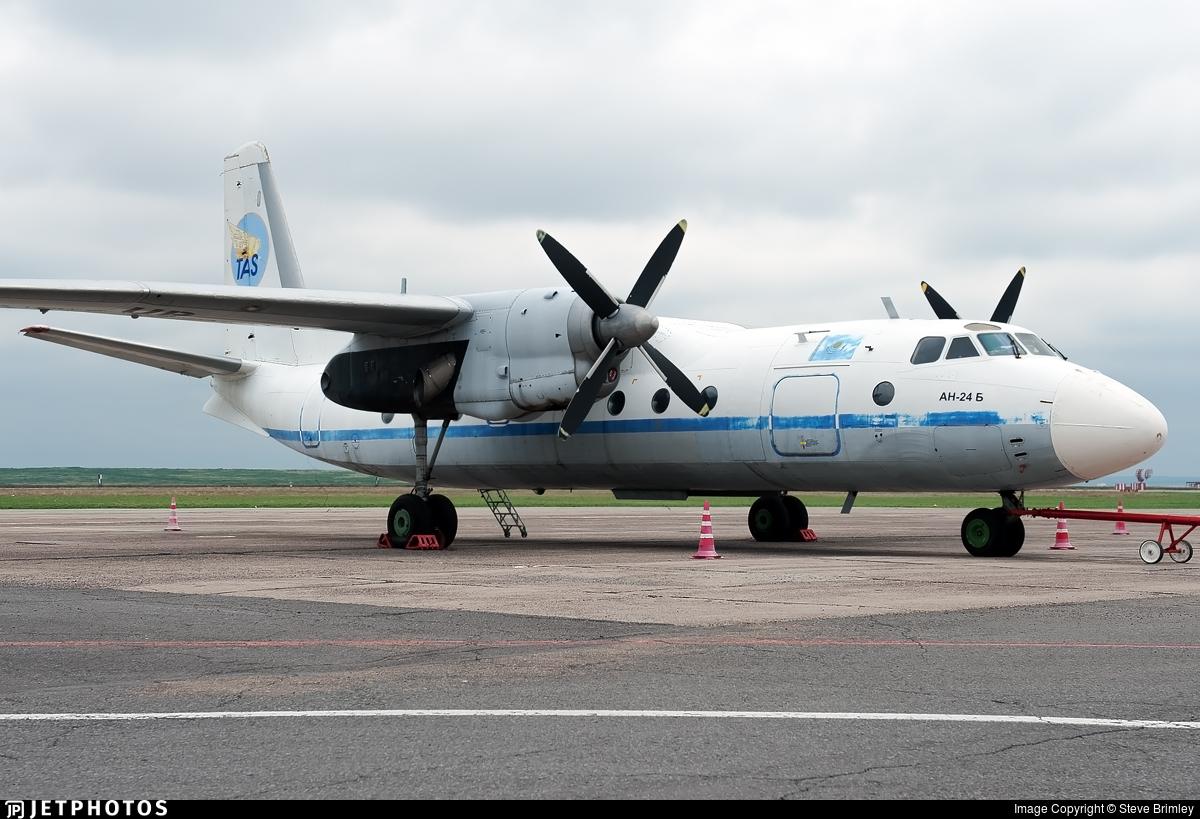 UP-AN427 - Antonov An-24B - Tulpar