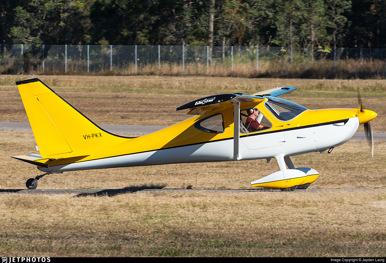 VH-PKX - Glasair Aviation Glastar - Private