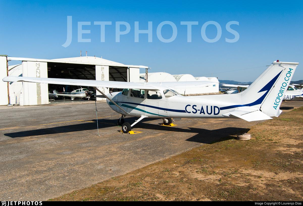 CS-AUD - Reims-Cessna F172M Skyhawk - Aero Club do Porto