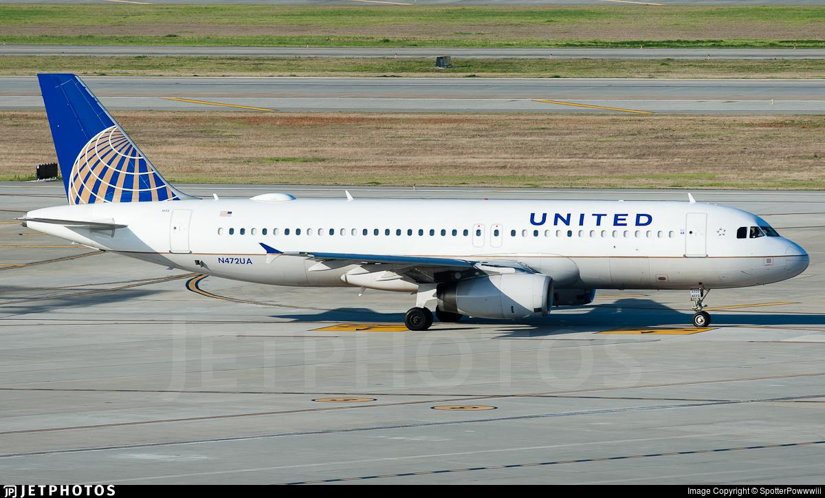 N472UA - Airbus A320-232 - United Airlines